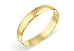 Кольцо обручальное из желтого золота 585 пробы