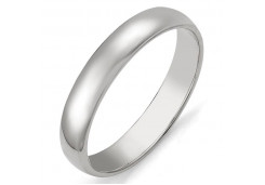 Кольцо обручальное из серебра 925 пробы