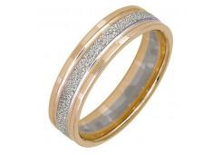 Кольцо обручальное из золота 585 пробы
