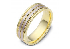Кольца из комбинированного золота 108001