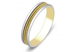 Кольца из комбинированного золота 108002
