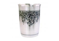 Посуда из серебра с чернением