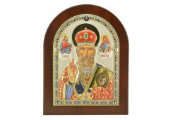 Икона Синтетический камень Средняя св.Николай Чудотворец