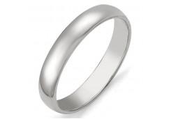 Серебряное обручальное кольцо