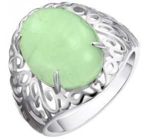 Серебряное кольцо с авантюрином