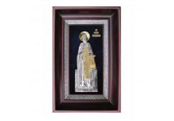 Икона Синтетический камень Средняя св Сергий Радонежский